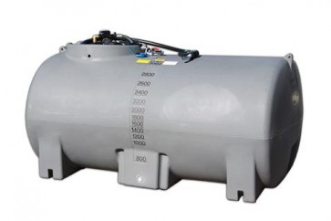 2000L Active Diesel Free Standing Tank, 45lpm Pump