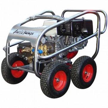 4000psi, 15lpm Bertolini Pump, 13HP Aussie Scud Slow Speed Honda Blaster