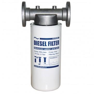 Diesel Filter Holder And Cartridge Kit Complete