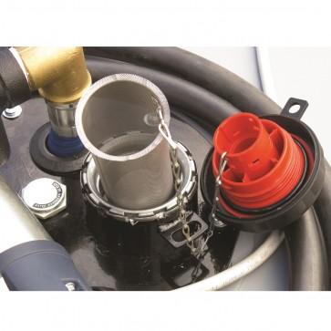 Non Vented Pad Lockable Diesel Filler Cap And Strainer