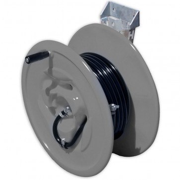 30M Hose And Side Mount Poly Reel