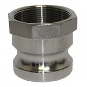 "2"" Stainless Steel Male Camlock Adaptor x FBSP"
