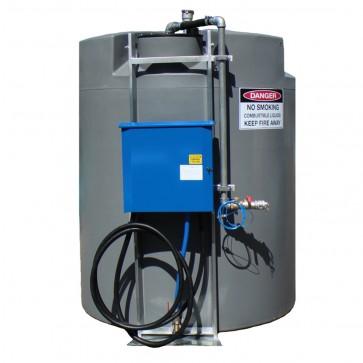 5000L Round Stationary Storage Diesel Tank