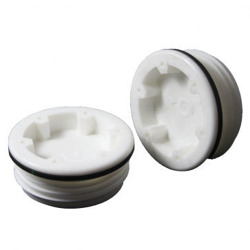 "2"" Poly Buttress Plug"