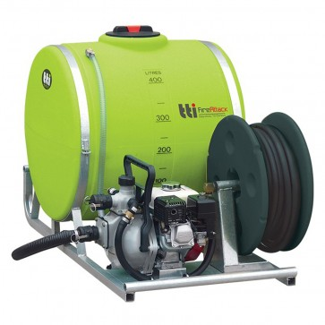 400L FireAttack Fully Drainable Fire Fighting Unit