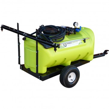 55L 12V Pump WeedControl Trailer With Boom Options
