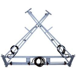 6M X Fold Steel Boom
