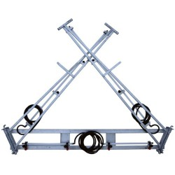 8M X Fold Steel Boom