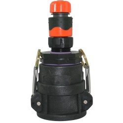 """2"""" Camlock Coupler x 50FBSP x 25mm Reducer, Tap Connector And Coupler"""