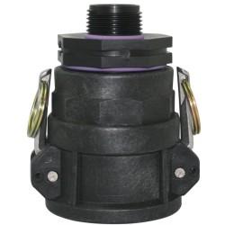 "2"" Camlock Coupler x 50FBSP x 25mm Reducing Nipple"