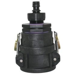 "2"" Camlock Coupler x 50FBSP x 50FBSP Adaptor x 25mm Reducer, 12mm Tap Connector"