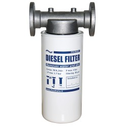 Diesel Filter Holder And Cartridge Kit Complete