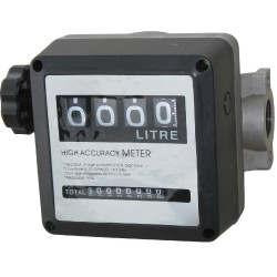 4 Digit Mechanical Flow Meter 000.0L