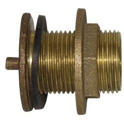"1 1/4"" Brass Tank Outlet Fitting"