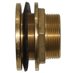 "1 1/2"" Brass Tank Outlet Fitting"