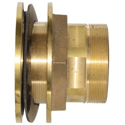 "4"" Brass Tank Outlet Fitting"