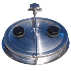 455mm Stainless Steel Hinged Lid