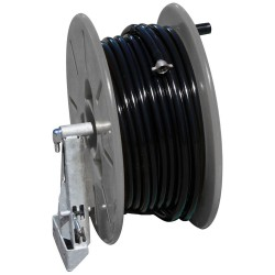50M Hose And Side Mount Poly Reel