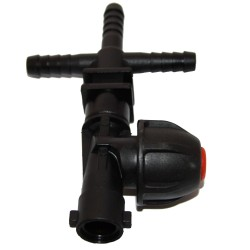 Cross Dry Boom Nozzle Holder