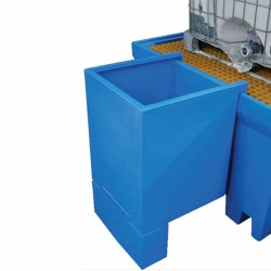 Trays to suit IBC bunded pallets