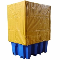 PVC covers to suit single IBC bunded pallet