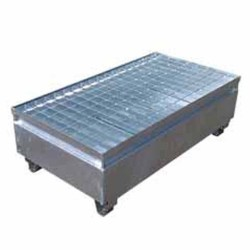 Galvanised Metal Bunded Pallets