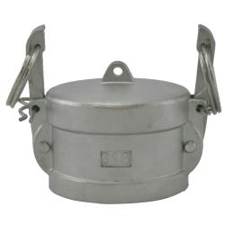 "2"" Stainless Steel Camlock Dust Cap"
