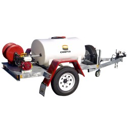 800L Industrial Fire Fighting Trailer