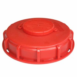 150mm Vented Poly Lid - UN approved