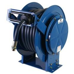20M Double pedestal steel diesel hose reel