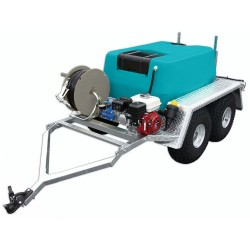 400L Bare Low Profile Trailer