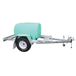 1200L Water Chemical Cartage Tank And Trailer Only