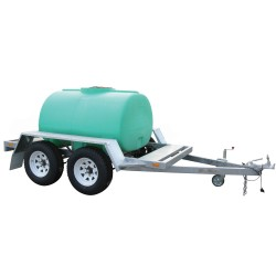 2000L Water Chemical Cartage Tank And Trailer Only
