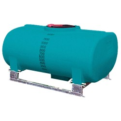 1200L Low Pin Mount Spray Tank, Frame Additional