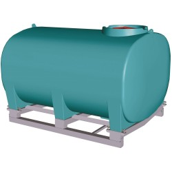 6000L Low Pin Mount Spray Tank, Frame Additional