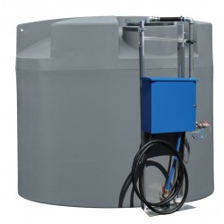 10000L Round Stationary Storage Diesel Tank
