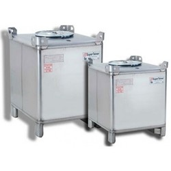 1500L Snyder Stainless Steel IBC