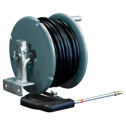 30M Hose And Side Mount Poly Reel With Gun