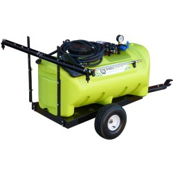55L 12V Pump Disinfectant Trailer With Boom Options