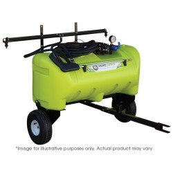 55L 12V Pump Disinfectant Zero Turn Trailer With Boom Options