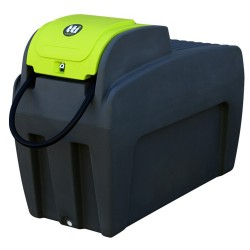 400L Slimline Lockable DieselCaptain Tank