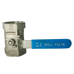"2"" Stainless Steel BSP Reduced Bore Ball Valve"
